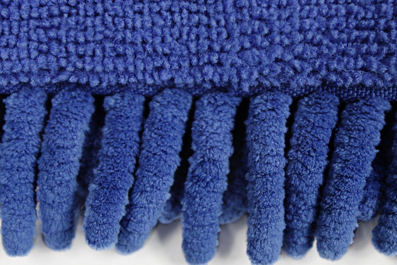 CleanAide Handheld Microfiber Flex Duster 20 inches Blue