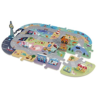 Sago Mini - Puzzle Mats - Robin'S Roadtrip: Toys & Games