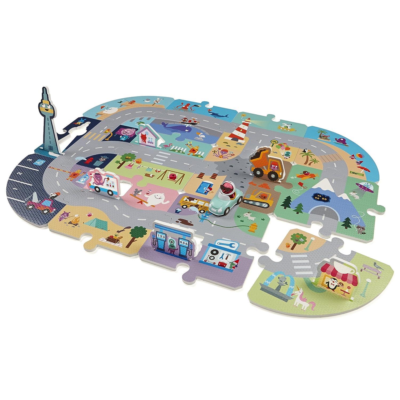 Sago Mini Puzzle Mats Robin's Roadtrip