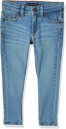 Tommy Hilfiger Simon Skinny Oclbst Jeans para Niños