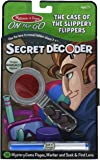 Melissa & Doug On the Go Secret Decoder - Case of the Slippery Flippers