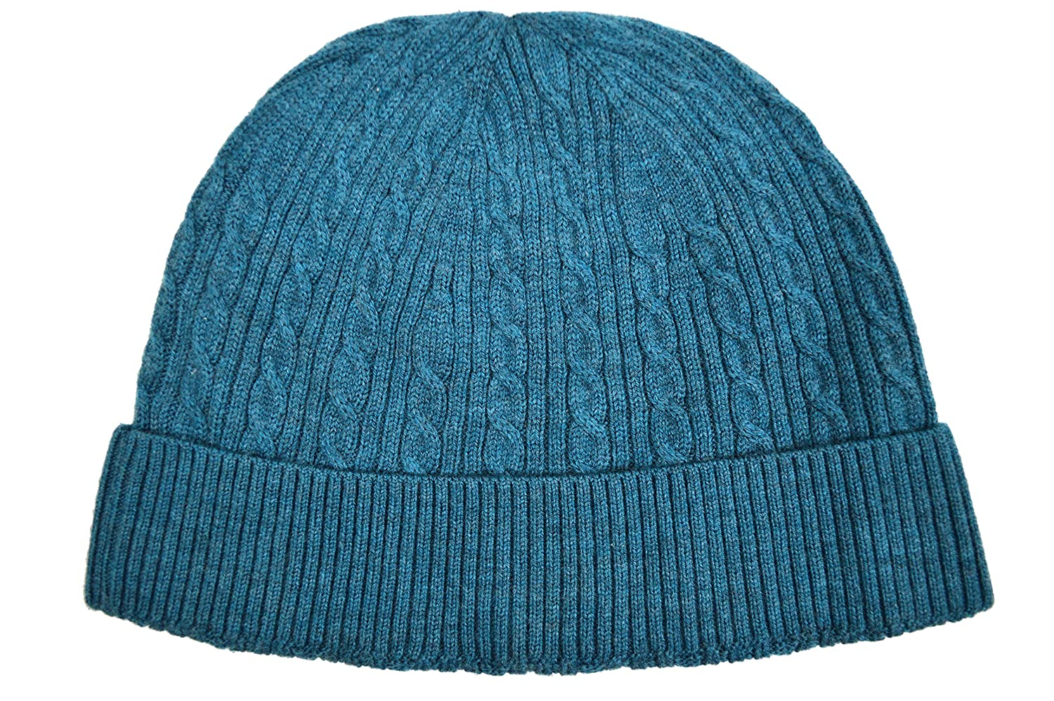 99fcce663 Brooks Brothers Men's Cable Knit Ribbed Merino Wool Beanie Winter ...
