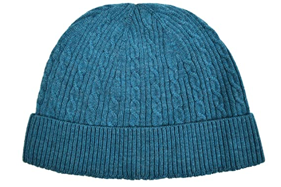 4d5c0d12 Brooks Brothers Men's Cable Knit Ribbed Merino Wool Beanie Winter ...