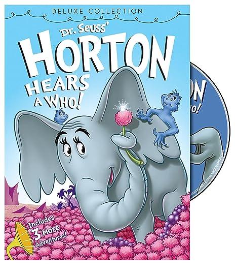 Amazon com: Dr  Seuss' Horton Hears a Who (Deluxe Edition): Various