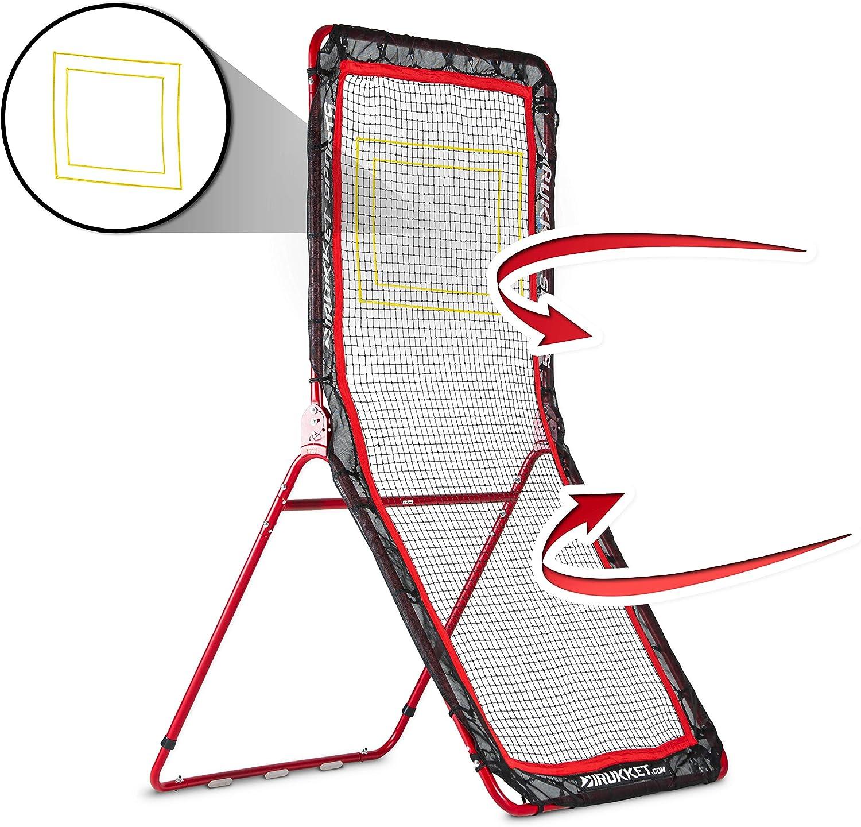 Rukket 4×7フィート 野球&ソフトボール リバウンダー トレーニングスクリーン