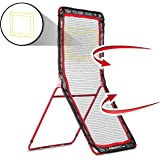 Rukket 4x7ft Lacrosse Rebounder Pitchback Training Screen   Practice Catching, Throwing, and Shooting