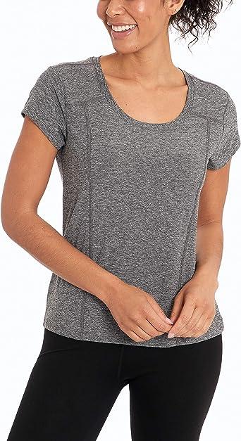 Marika Womens Marcy Short Sleeve V-Neck T-Shirt