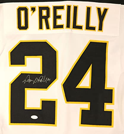 Image Unavailable. Image not available for. Color  Terry O Reilly Boston  Bruins Autographed Custom White  24 Jersey ... fe912f7ab