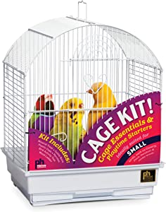 Prevue Pet Products 91102 Round Roof Bird Cage Kit