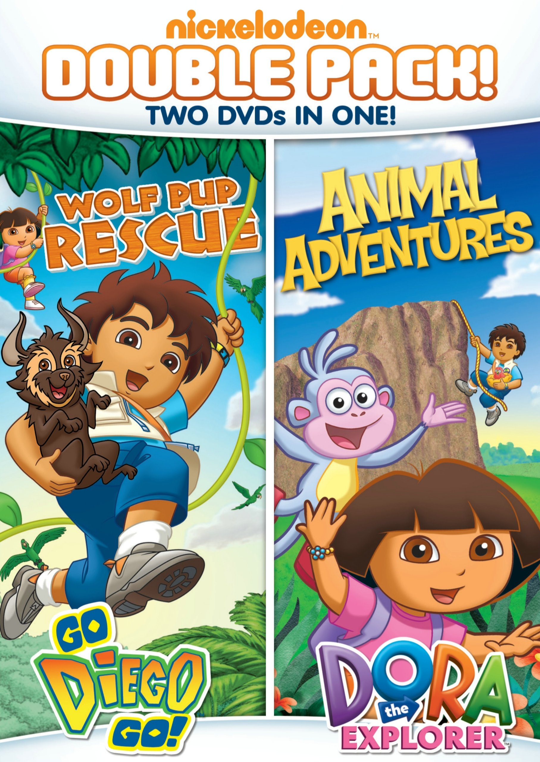 Dora & Diego: Wolf Pup Rescue & Animal Adventures (Full Frame, Dolby)