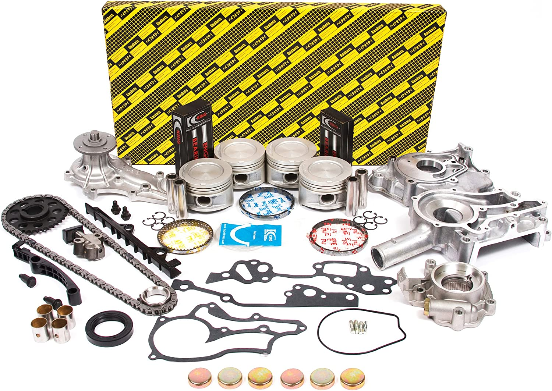 Evergreen OK2000/0/0/0 Fits 85-95 Toyota 2.4L SOHC 8V 22R 22RE 22REC Master Overhaul Enigne Rebuild Kit