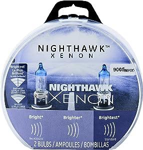 GE Lighting 9005 NHX/BP2 Nighthawk Xenon Replacement Bulb, 2-Pack