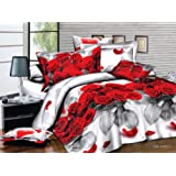 Amazon Price History for:7 Piece Set Red Rose and Love Heart 3d Comforter Set Including Matching 3d Sheet Set (014) (Queen)