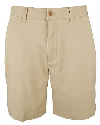 5e9c2c6b4 Polo Ralph Lauren Mens Cotton Stretch Classic Fit 9 Flat Front Shorts (30