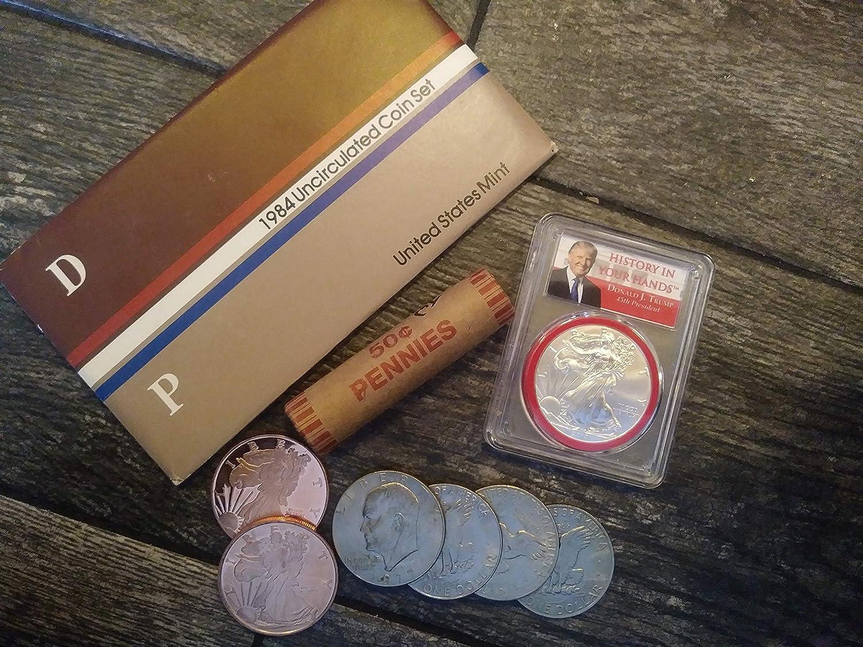 "Bicentennial Eisenhower /""Ike/"" Dollar Type 1 in Mint Cello 1975 1776 ~ 1976 P"