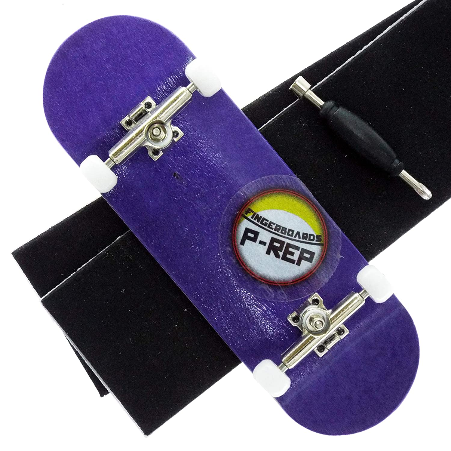 Orange P-REP Tuned Complete Wooden Fingerboard 32mm Dyed