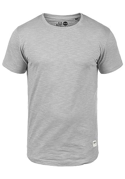 Solid Figos - Camiseta para Hombre, tamaño:M, Color:Monument (