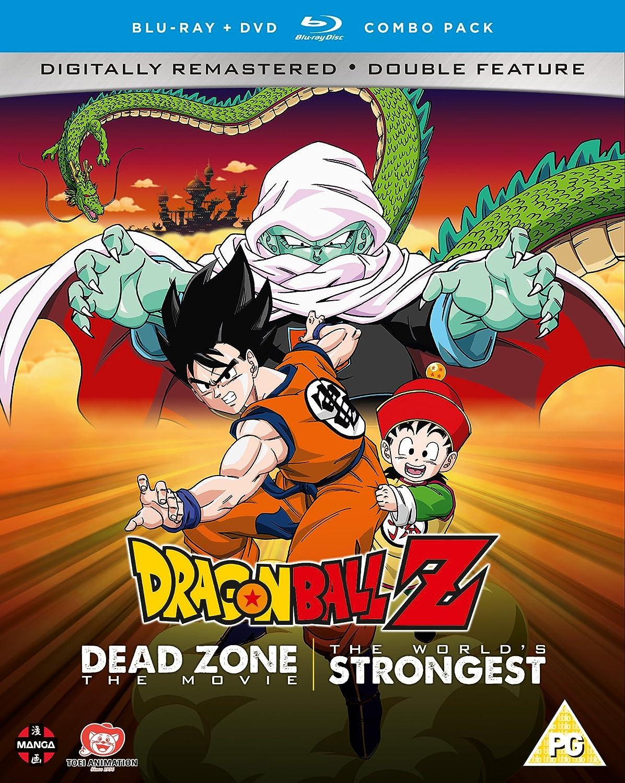 Dragon Ball Z Movie Collection One: Dead Zone/The Worlds Strongest - DVD/Blu-ray Combo Reino Unido Blu-ray: Amazon.es: Masako Nozawa, Toshio Furukawa, Hiromi Tsuru, Daisuke Nishio, Masako Nozawa, Toshio Furukawa: Cine y Series