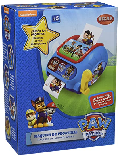 Amazon.com: Patrulla Canina Paw Patrol – Stickers Machine ...