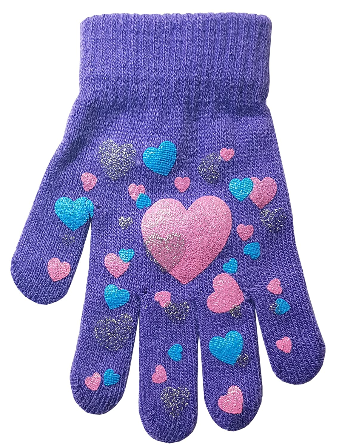Children's Heart and Butterfly Design Magic Gripper Gloves