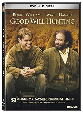 Amazon Com Good Will Hunting Dvd Digital Robin Williams Matt