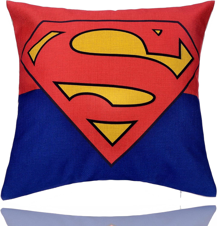 Decorative Pillow Cover (Superman)