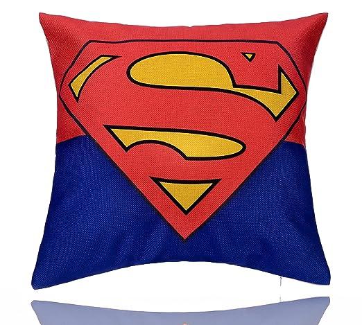 loomen superhéroe funda de almohada colección: Amazon.es: Hogar