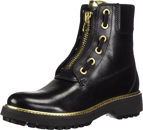 Geox Damen D Asheely Plus A Biker Boots