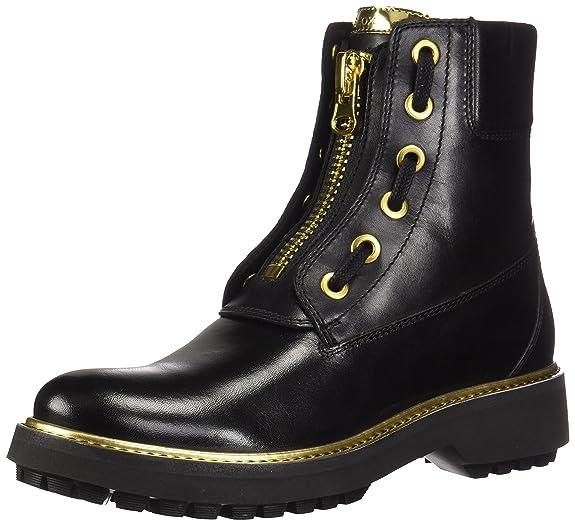 Geox D Asheely Plus A, Botas Estilo Motero para Mujer: Amazon.es: Zapatos y complementos