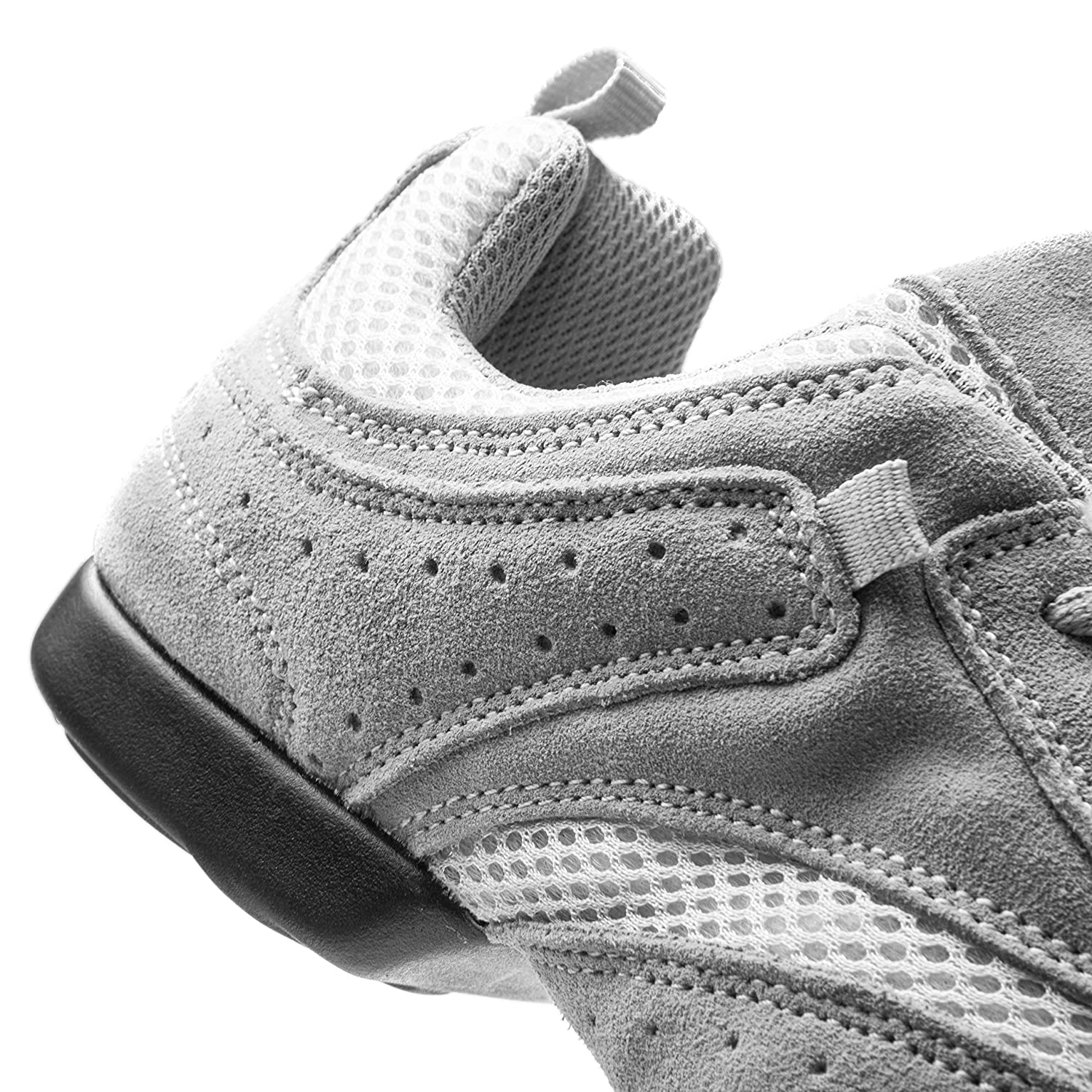 Rumpf 1566 scarpe da ginnastica ginnastica ginnastica Nero Scarpe Danza Hop Hop Lindy Ginnastica Line Dance Sport Esportivo Fitness Allenamento Suola Spezzata Suola Bufala colore grigia 56eeb6