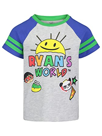 7a31518d1738 Amazon.com: Ryans World Boys Iconic Graphic Short Sleeve Tee Shirts ...