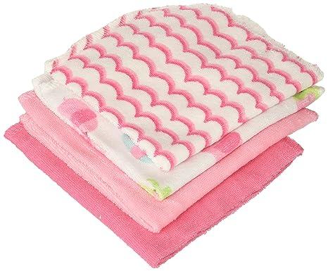 Just Born Love To Bathe - Juego de toallitas de baño Elephant/Pink