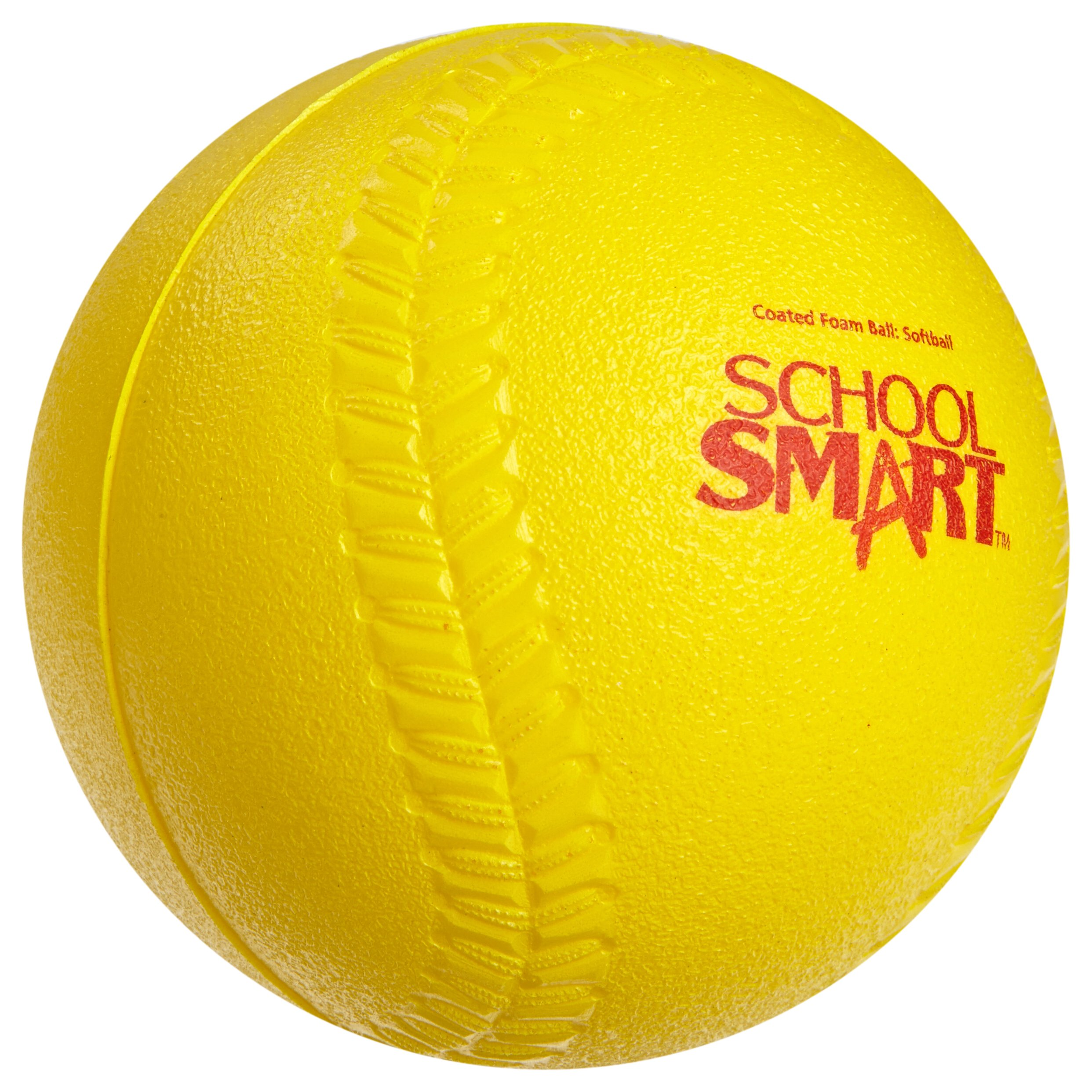 Sportime Coated Foam Softball - High-Visibility Yellow by Sportime