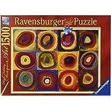 Ravensburger 16377 - Kandinsky: Farbstudie, Quadrate 1913 - 1500 Teile Puzzle