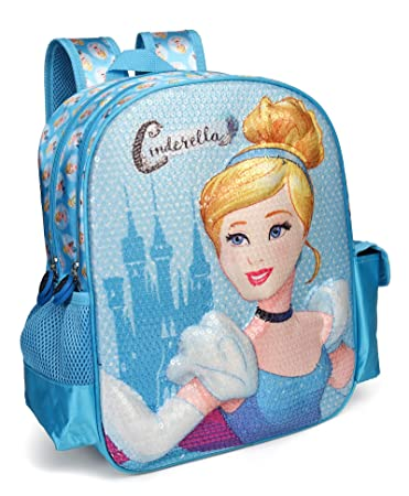 411bfc5adcc Disney Princess Cinderella Blue School Bag for Children of Age Group 3 - 5  years