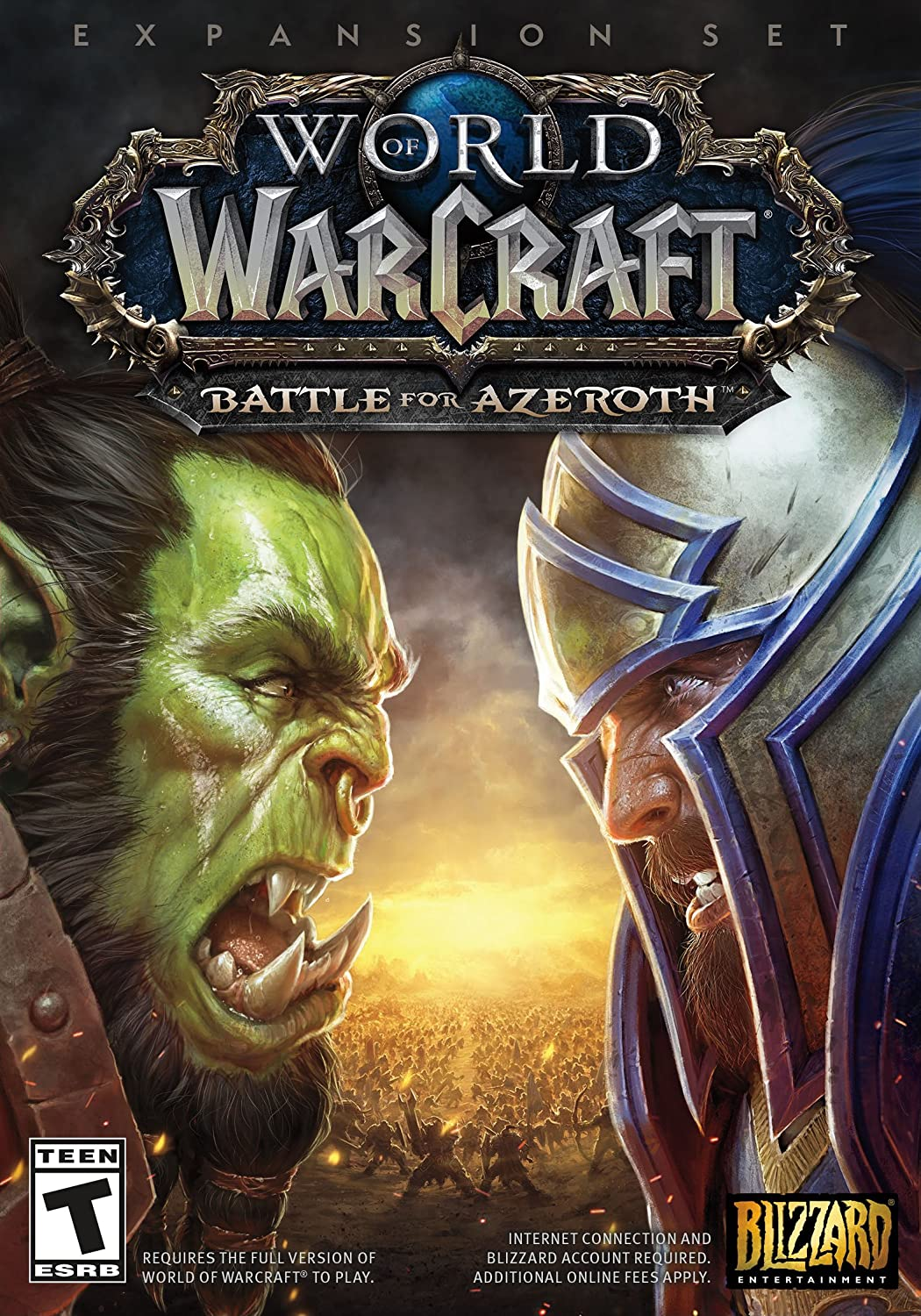 amazon com world of warcraft battle for azeroth pc standard