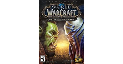 World of Warcraft Battle for Azeroth Standard Edition for PC only $24.99