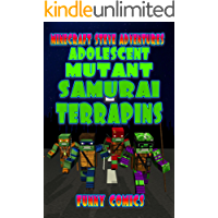 Adolescent Mutant Samurai Terrapins (Steve's Comic Adventures Book 9)