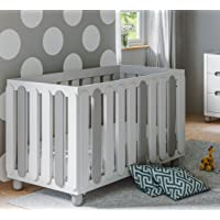 Storkcraft Sienna 3-in-1 Convertible Crib (White/Pebble Gray)