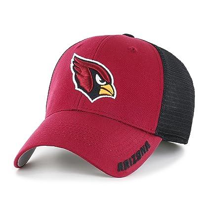 Amazon.com   OTS NFL Adult Men s NFL Hursh Center Stretch Fit Hat ... 9e371a48b