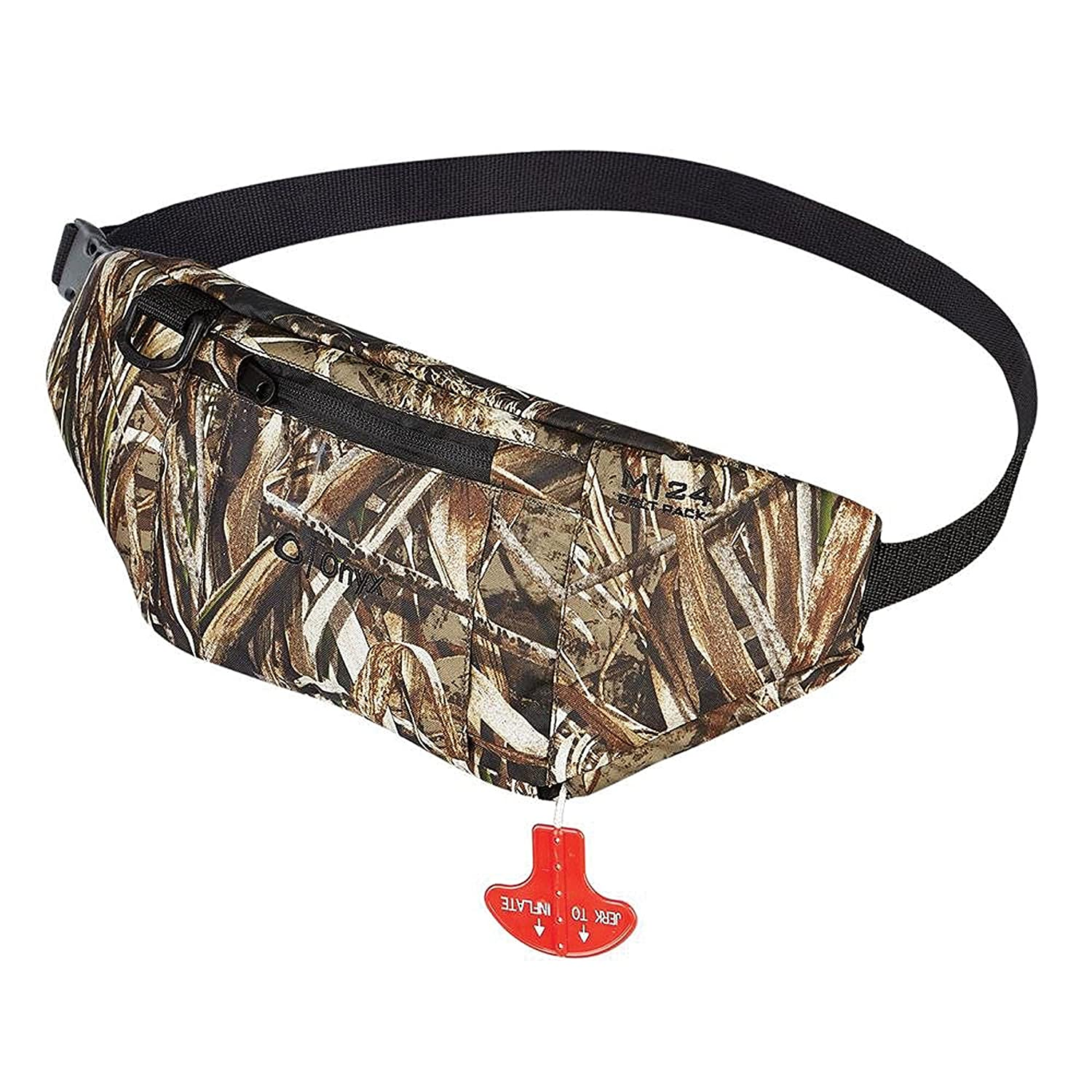 M-24 Manual Inflatable Belt Pack, Camo Absolute Outdoors 130000-812-004-15