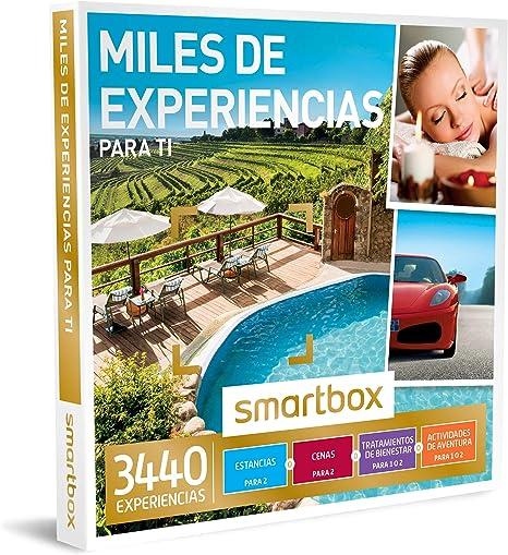 Smartbox - Caja Regalo -Miles DE EXPERIENCIAS para TI - 3440 ...