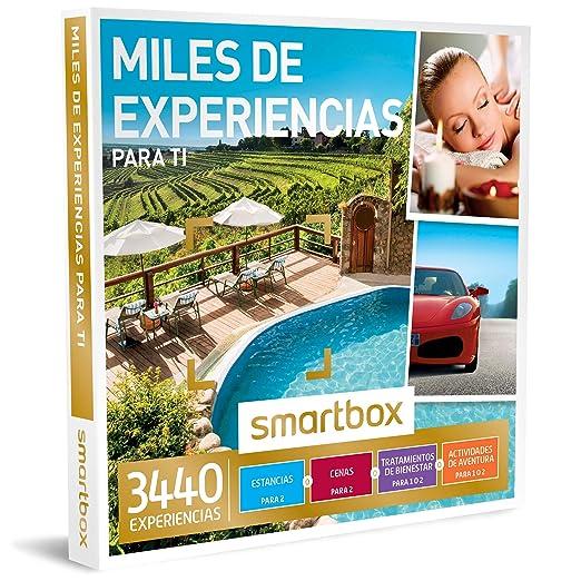 SMARTBOX - Caja Regalo -MILES DE EXPERIENCIAS PARA TI - 3440 estancias, cenas, tratamientos de bienestar o actividades de aventura en España, Andorra, ...