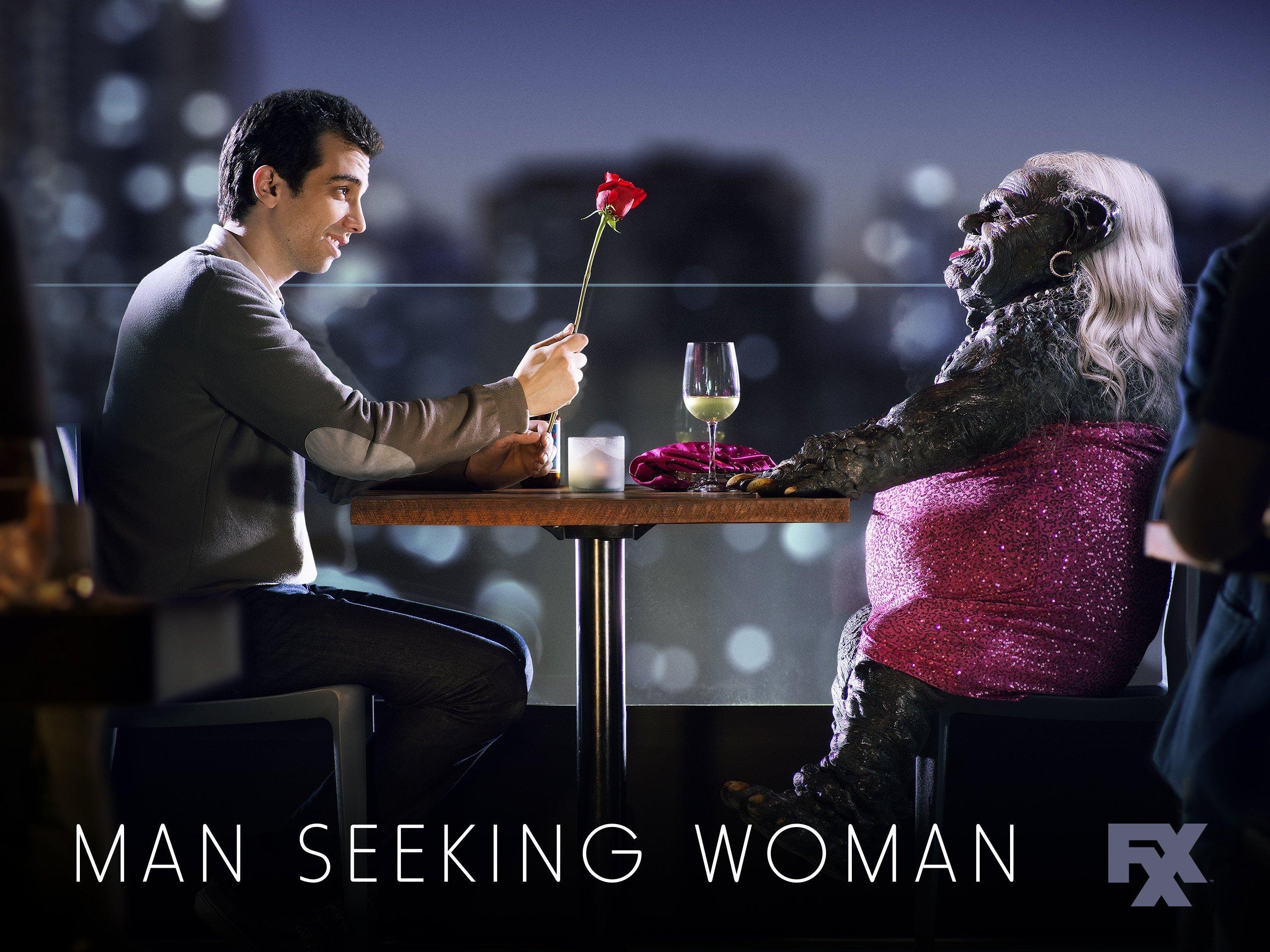 man seeking woman book