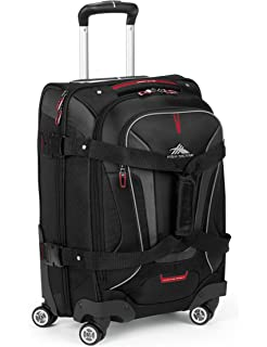 Amazoncom High Sierra AT7 Outdoor Wheeled Backpack Black Sports