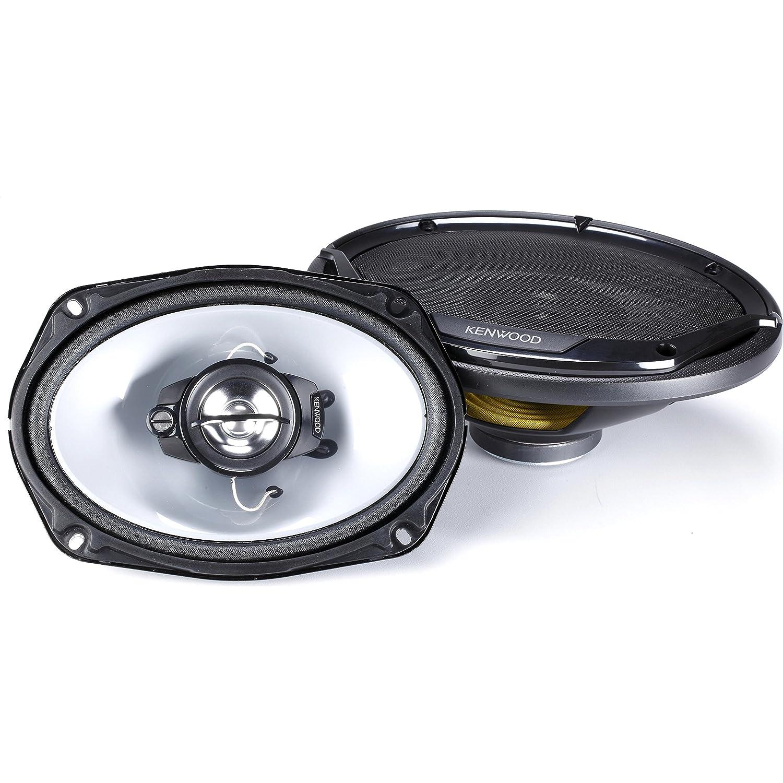 New 5558986246 Kenwood Road Series 6 X 9 3-way Car Flush Mount Speaker KFC-6965R Black