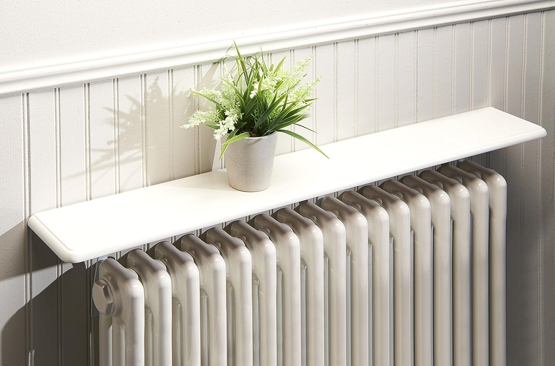 Greenhurst easylife lifestyle solutions Easy Fit Radiator Shelves, White
