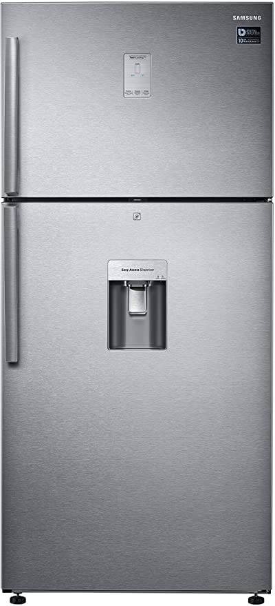 Samsung 523 L 3 Star Frost Free Double Door Refrigerator(RT54K6558SL/TL, Silver, Convertible) Large Appliances at amazon