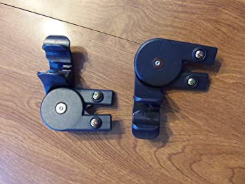 Chicco Cortina Stroller Canopy REPLACEMENT holder bracket support set & Amazon.com : Chicco Cortina Stroller Canopy REPLACEMENT holder ...