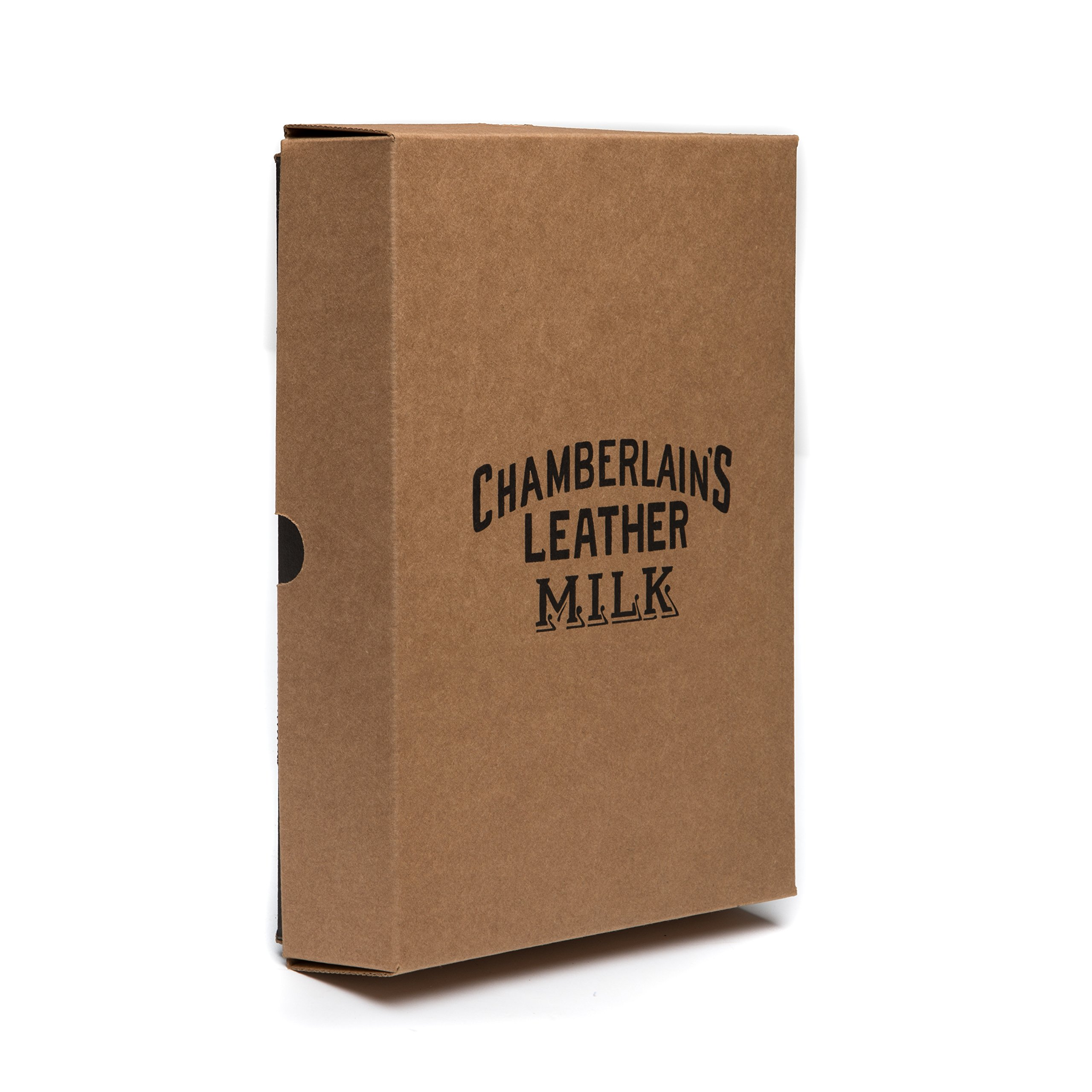 Leather Milk Leather Restoration Kit - Heal & Restore Antique Leather. Cleaner, Conditioner, Water Protectant, Healing Balm, Detailing Brushes, Pads, More! All-Natural. Made in USA by Chamberlain's Leather Milk (Image #3)